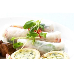 Vietnamese rice paper roll - mini thumbnail