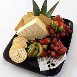 Brie, fruit and crackers thumbnail