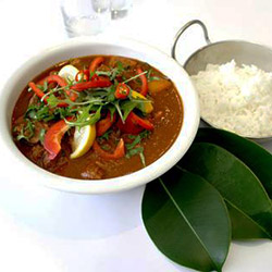 Rogan josh beef curry with rice thumbnail