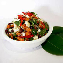 Pumpkin vegetable and couscous salad thumbnail