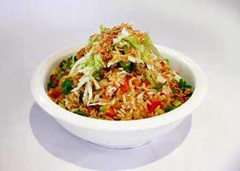Vegetarian fried rice thumbnail
