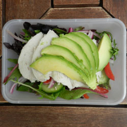 Chicken and avocado salad thumbnail