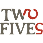 Two Fives Catering logo