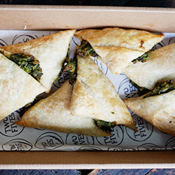 Spinach and feta pasties thumbnail