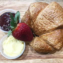 Fresh croissant thumbnail