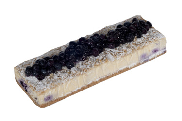 Blueberry crumble log thumbnail