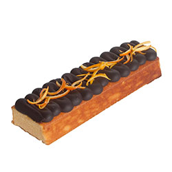 Choc orange flourless log thumbnail