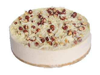 Kahlua and hazelnut cheesecake thumbnail