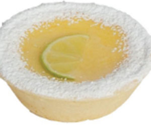 Lime custard tartlet thumbnail