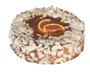 Flourless orange and almond tea cake thumbnail