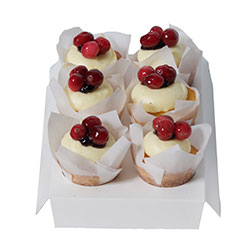 Berry burst flourless petite cake thumbnail