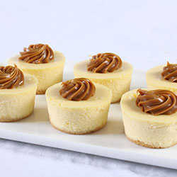 Baby Baked Cheese Cakes thumbnail