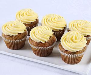 Banana cake cupcakes thumbnail