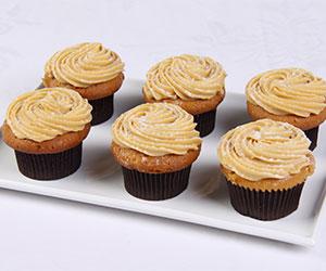 Caramel mud cupcakes - caramel fudge icing thumbnail
