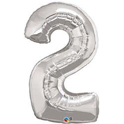 Helium Foil number ballon - 38 inch thumbnail