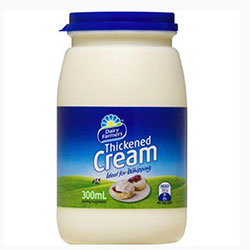 Thickened cream - 600 ml thumbnail