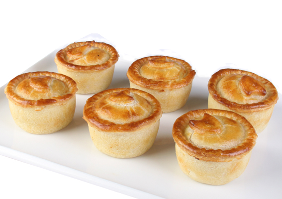 Chicken and leek pies - mini thumbnail