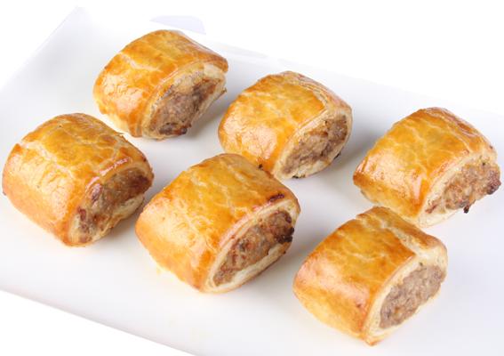 Sausage rolls - mini thumbnail