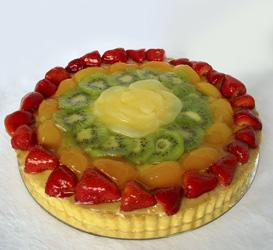 Mixed Fruit Flan - Large  thumbnail
