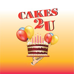 Cakes 2 U logo