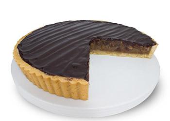 Chocolate pecan tart thumbnail