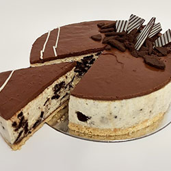 Oreo Nutella cheesecake thumbnail