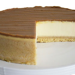 Salted caramel cheesecake thumbnail