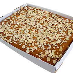 Orange and almond slab thumbnail