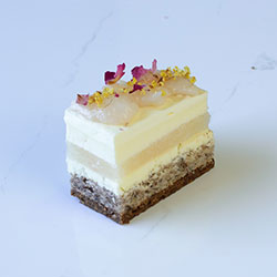 Rose and lychee slice - mini thumbnail