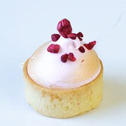 Raspberry meringue tart - mini thumbnail