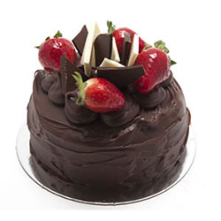 Dark chocolate fantasy cake thumbnail
