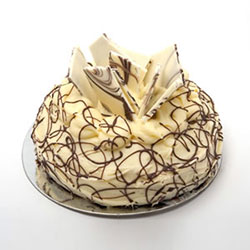 White chocolate fantasy cake thumbnail