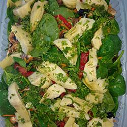 Roast chicken and salad thumbnail