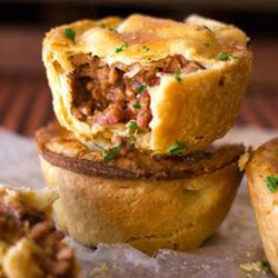 Gourmet party pies thumbnail