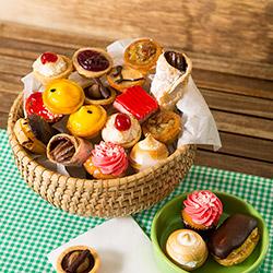Petits fours dessert platter thumbnail