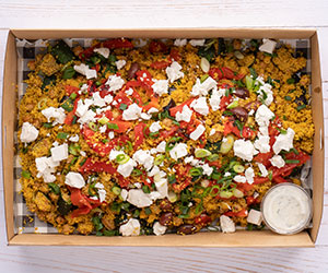 Moroccan couscous roasted vegetables thumbnail