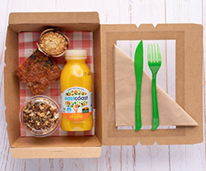 Vegetarian breakfast box thumbnail
