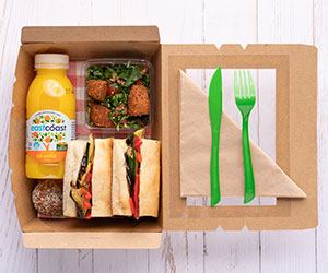 Vegan lunch box thumbnail
