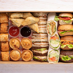 VIP sandwich and hot finger food package thumbnail
