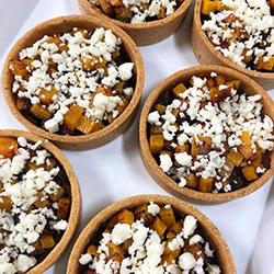 Roast pumpkin tartlet thumbnail