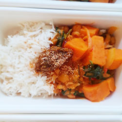Sweet potato and chickpea curry thumbnail