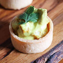 Crocodile green curry tart thumbnail