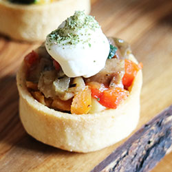 Roast vegetable tart thumbnail