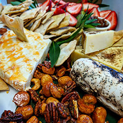 Charcuterie and cheeses platter thumbnail