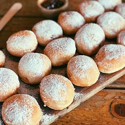 Jam doughnut - mini thumbnail