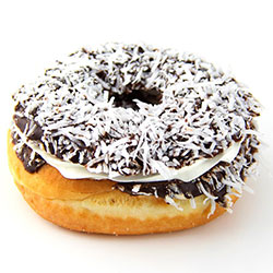 Large Lamington Doughnut thumbnail