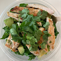 Organic chicken green bowl thumbnail