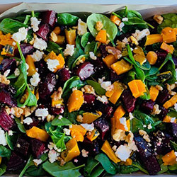 Beetroot and pumpkin salad thumbnail
