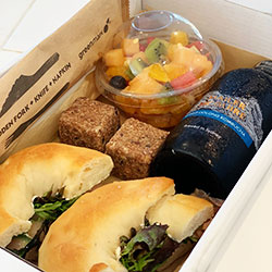 Gluten free and vegan brekkie box thumbnail