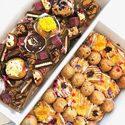 Assorted sweets, cookies and muffins thumbnail